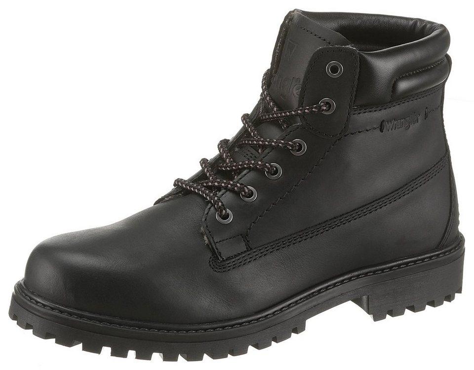 sports shoes c871b 6c8ee Wrangler Schnürboots, Modische Worker Boots aus Leder online kaufen | OTTO