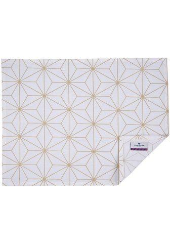 TOM TAILOR Stalo kilimėlis »Golden Chrystals« (Ri...