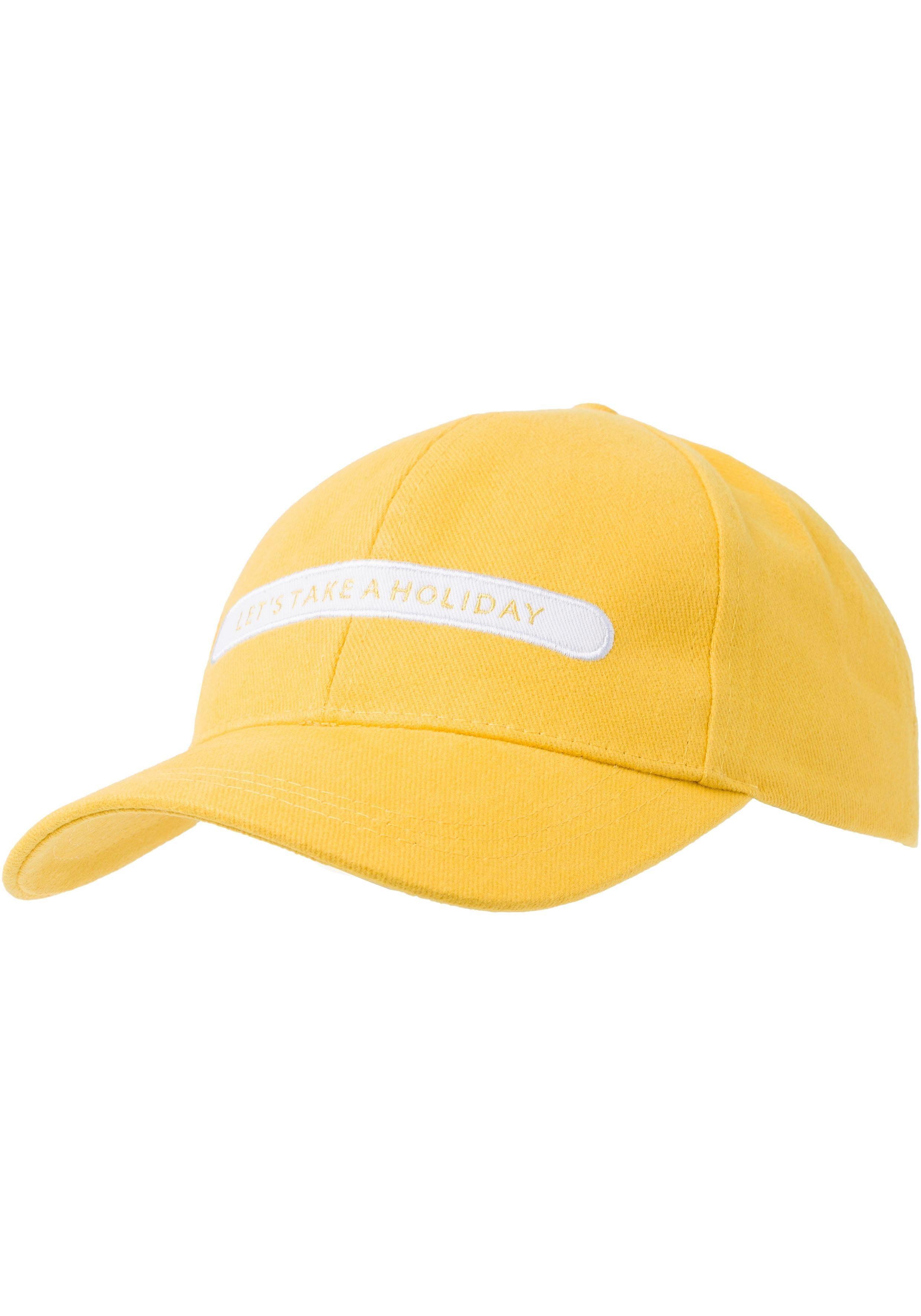 Esprit Baseball Cap mit Stickerei-Aufnäher vorn