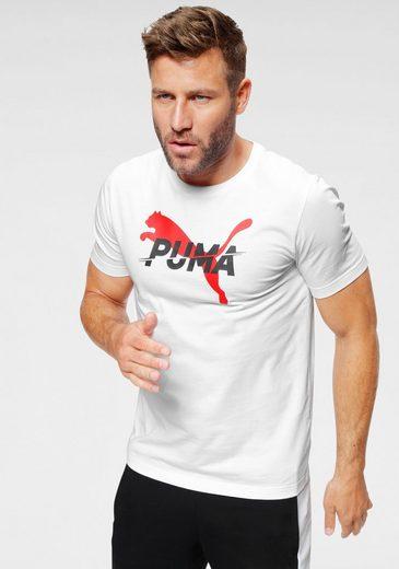 PUMA T-Shirt »MODERN SPORTS Logo Tee«