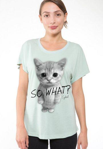 Ezekiel T-Shirt mit Front-Print