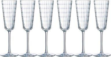 CRISTAL D´ARQUES Sektglas »Iroko« (6-tlg)