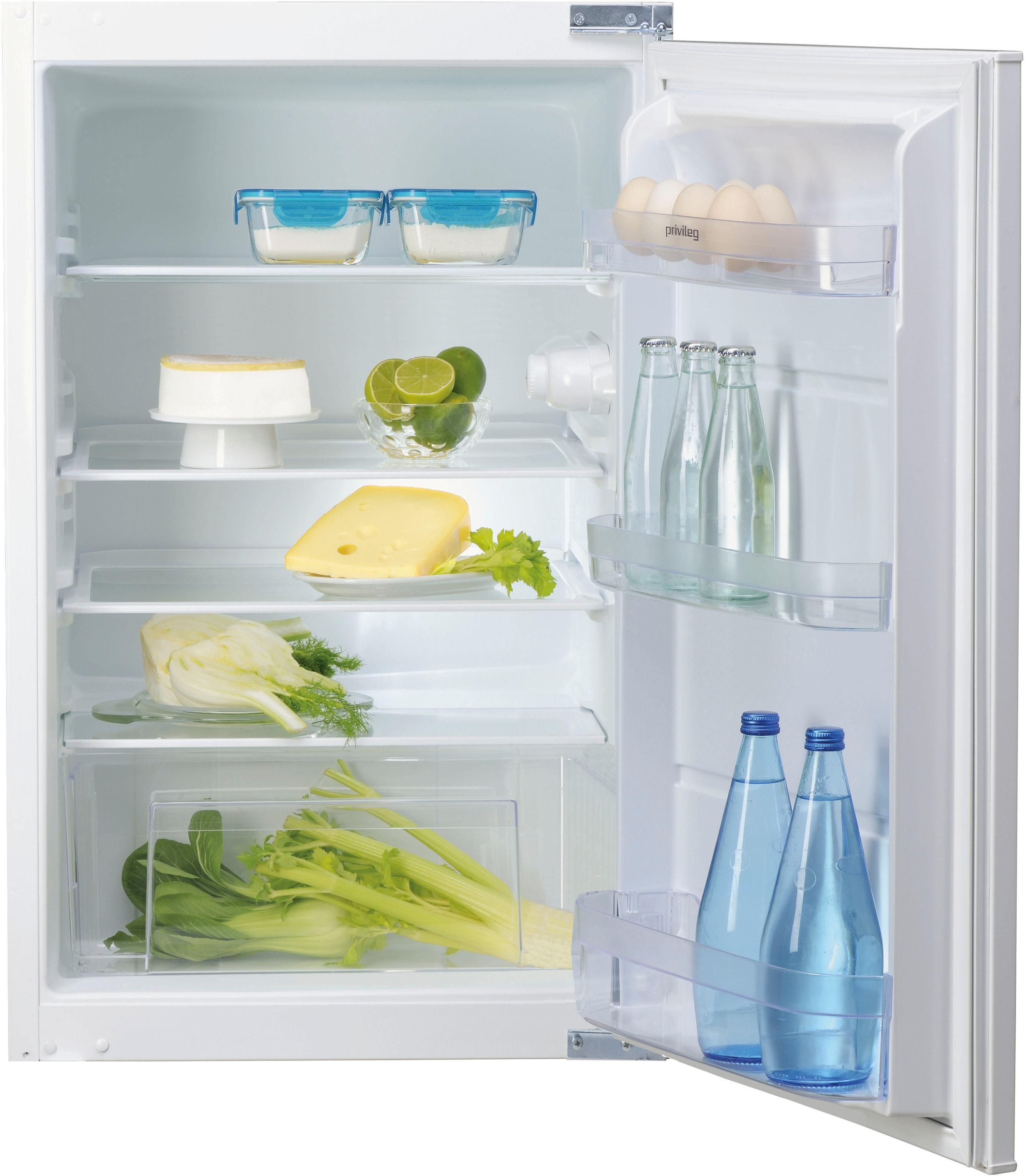 Privileg Einbaukühlschrank PRCIF 154 A++, 87,5 cm hoch, 54 cm breit