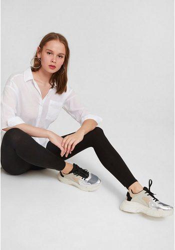 Damen OXXO Leggings mit Ultra hoher Taillenform schwarz | 08681613215351