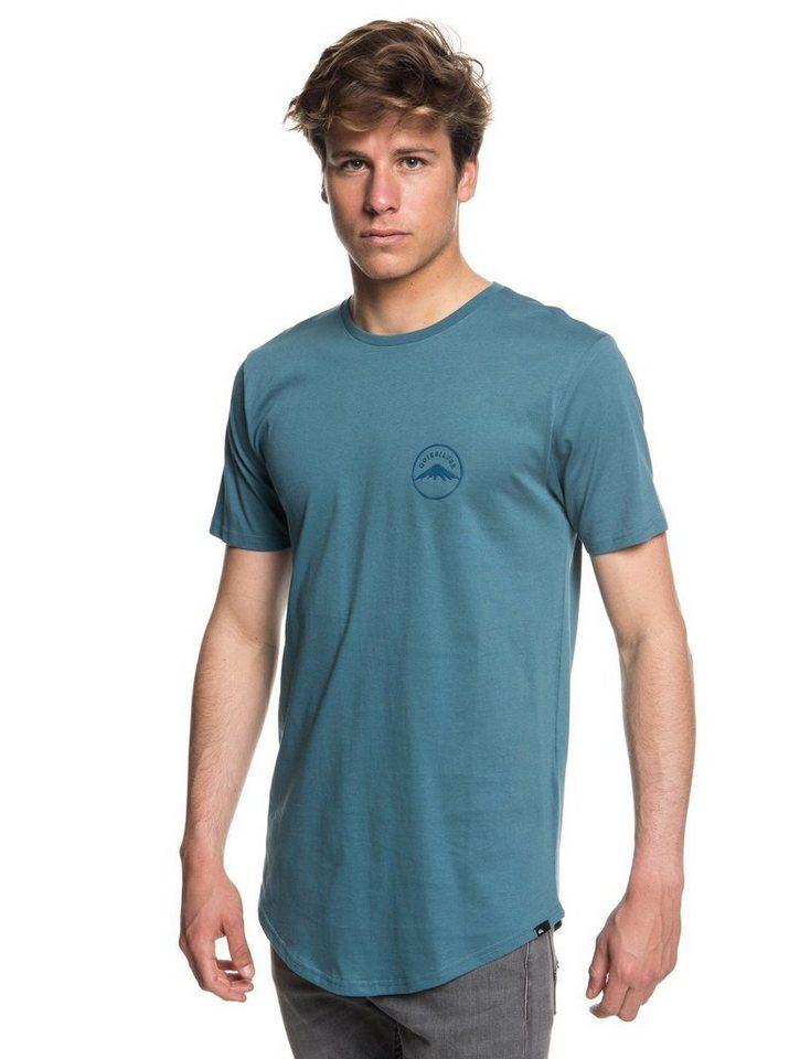 Herren Quiksilver T-Shirt Quik And Co blau | 03613373877819