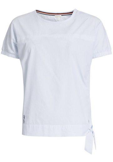 khujo Rundhalsshirt »BETRIA« (1-tlg) aus Baumwolle
