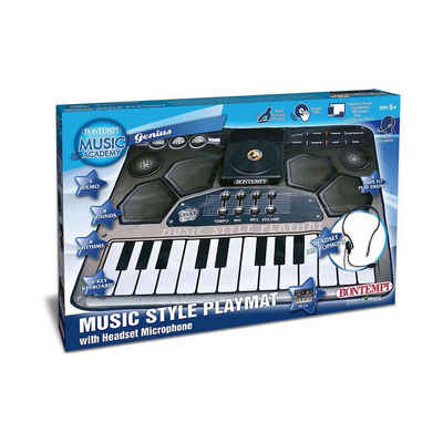 Bontempi Spielzeug-Musikinstrument »Musikmatte, mit Headset-Mikrofon«