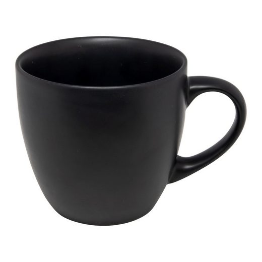 Neuetischkultur Tasse »Tasse Black Matt«, Keramik
