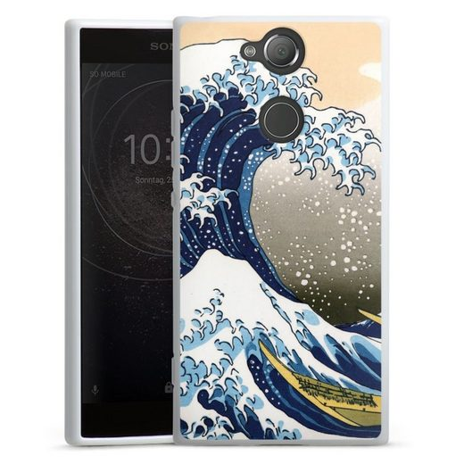 DeinDesign Handyhülle »Great wave of Kanagawa / Die große Welle vor Kanagawa« Sony Xperia XA 2, Hülle Katsushika Hokusai Kunst
