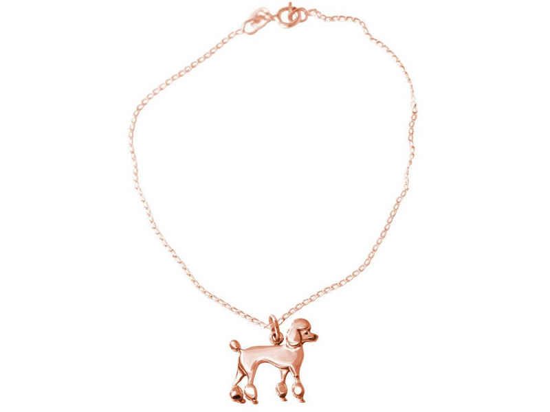 Gemshine Charm-Armband »Pudel, Caniche, Poodle Hund«, Made in Spain