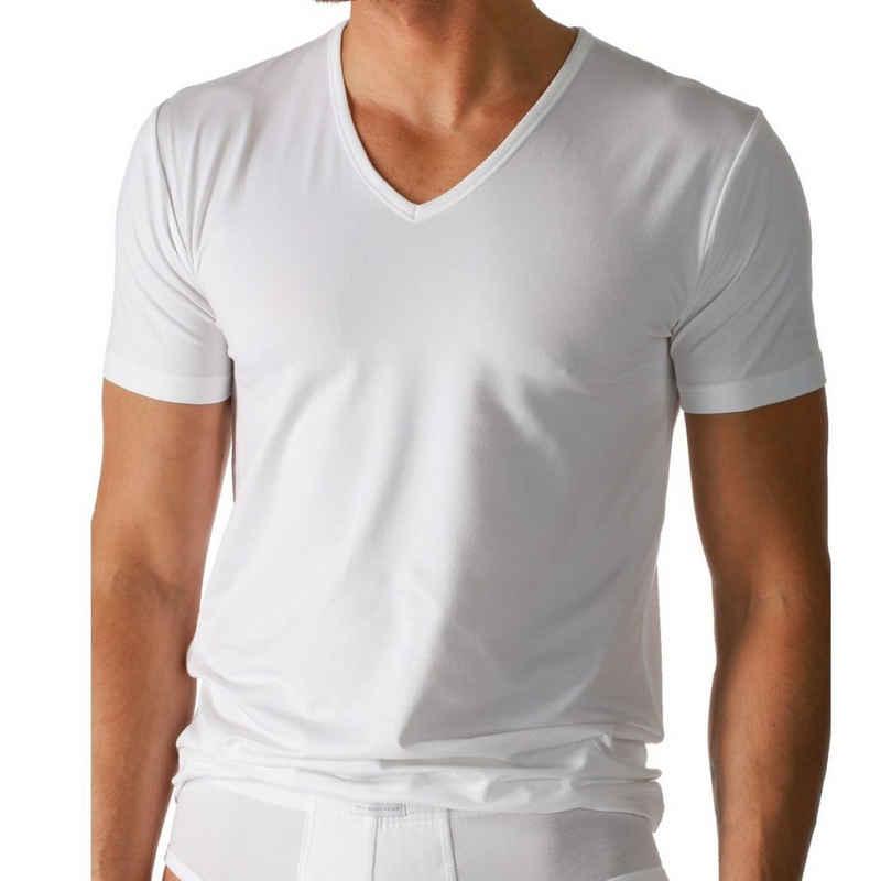 Mey Unterhemd »Dry Cotton«, T-Shirt mit V-Ausschnitt - Körpernahe Passform, Mit Klimaanlage, Halbarm mit V-Ausschnitt