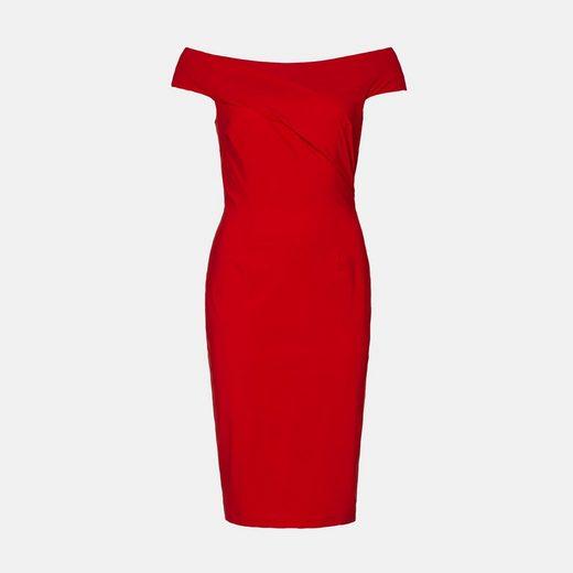 Evita Off-Shoulder-Kleid bügelfrei