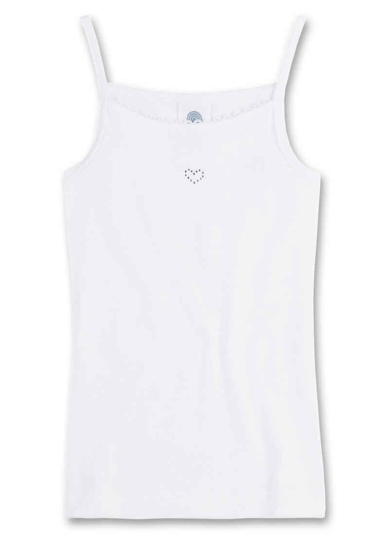 Sanetta Unterhemd »Mädchen Unterhemd mit Herz - Top, Shirt ohne Arme,«