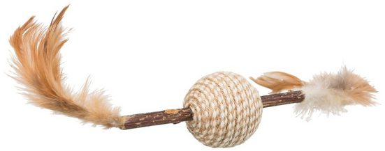 TRIXIE Spielknochen »Matatabi Federspielzeug«, Matatabi, 20 cm Länge