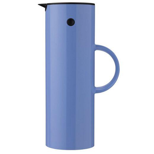 Stelton Isolierkanne »Stelton EM77 Thermoskanne 1 Liter lupin / blau Thermoskanne«