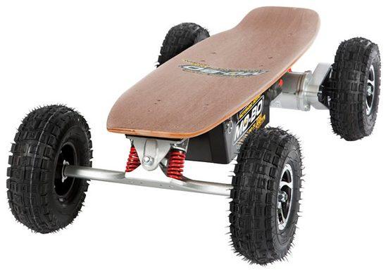 MO-BO Elektroskateboard »Classic Wood«, 800 W, 30 km/h, Heckmotor, 22 Ah