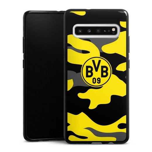 DeinDesign Handyhülle »BVB Camo« Samsung Galaxy S10 5G, Hülle BVB Borussia Dortmund Fanartikel