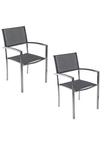 Destiny Sodo kėdė »Square« (Set 2 vienetai) Ed...