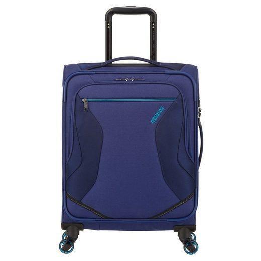 American Tourister® Handgepäck-Trolley »Eco Wanderer 4-Rollen-Kabinentrolley S 55/20 cm«, 4 Rollen Rollen