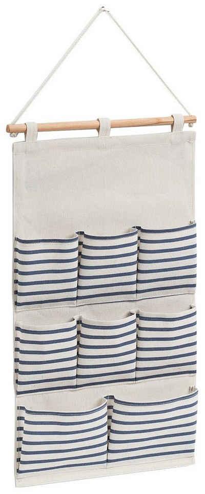 Zeller Present Hängeaufbewahrung »Stripes«, BxT: 35x58,5 cm, mit 8 Fächern