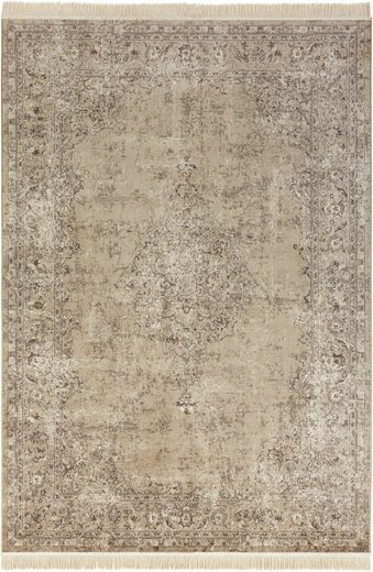 Teppich »Orient Vintage Medaillon«, NOURISTAN, rechteckig, Höhe 5 mm