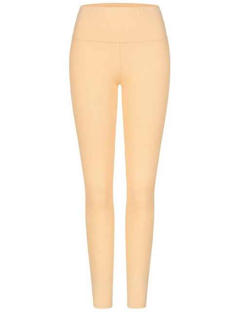 Hosen - Cotton Candy Leggings »SADE« mit körpernaher Passform › gelb  - Onlineshop OTTO