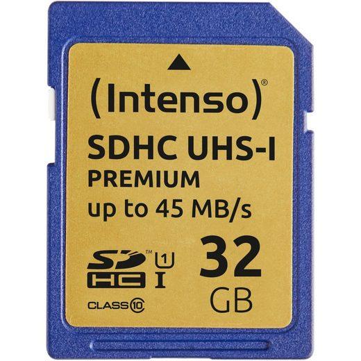 Intenso »SD 32GB 10/45 Secure Digital UHS-I ITO, Class 10« Speicherkarte