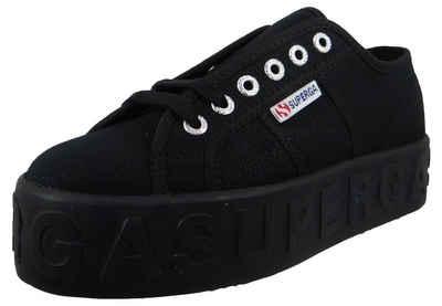 Superga »S71183W 996 black-black« Sneaker