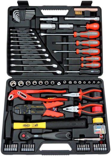 FAMEX Werkzeugkoffer »144-FX-48 «, 168-tlg.
