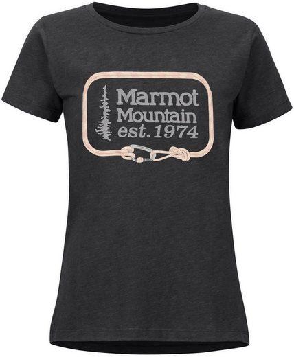Marmot T-Shirt »Ascender Kurzarm T-Shirt Damen«