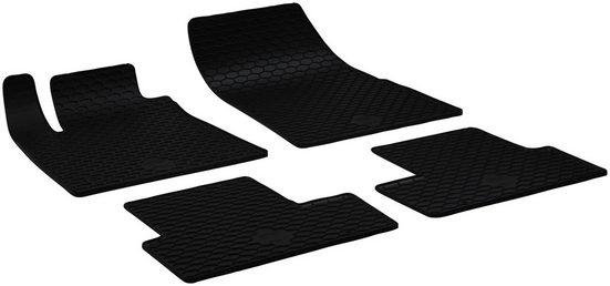 Walser Passform-Fußmatten (4 Stück), Renault Megane Kombi, Schrägheck, für Renault Megane 4 BJ 11/2015 - heute