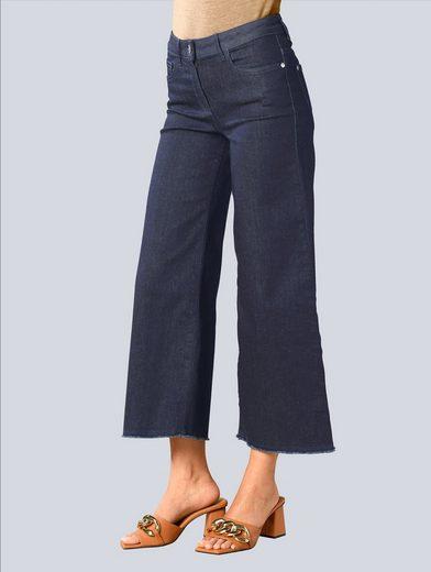 Alba Moda 7/8-Jeans mit weiterem Beinverlauf
