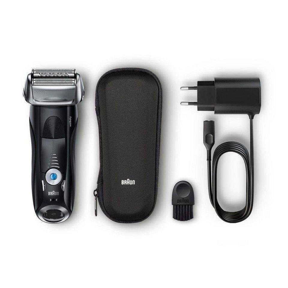 72a4abe005d9 Braun Elektrorasierer Series 7 7840s, SmartClick-Präzisionstrimmer, mit  Reise-Etui, Wet&Dry online kaufen   OTTO