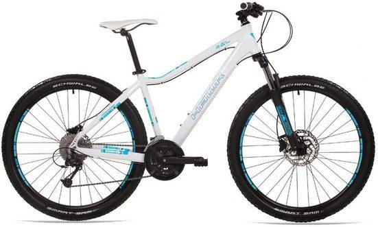 HAWK Bikes Mountainbike »Fortyfour 27.5 Lady«, 27 Gang Shimano Deore Schaltwerk, Kettenschaltung