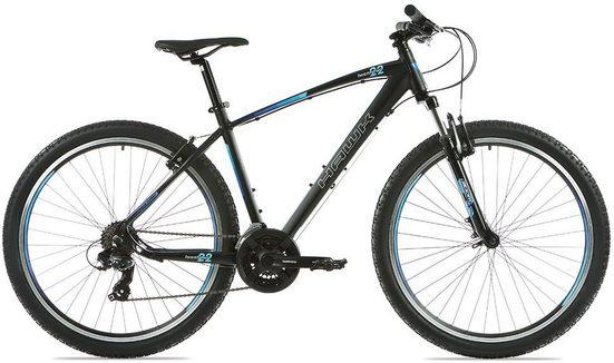 HAWK Bikes Mountainbike »Twentytwo 27.5«, 21 Gang Shimano Tourney Schaltwerk, Kettenschaltung