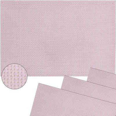 Platzset, »Tischsets ELEGANCE 4 Stk. rosa Platzsets 45 cm«, matches21 HOME & HOBBY