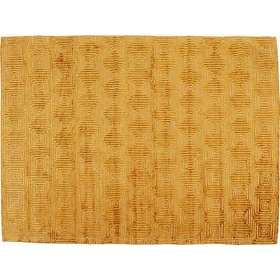 Designteppich »Teppich Costa Gelb 170x240cm«, KARE, Höhe 4 mm