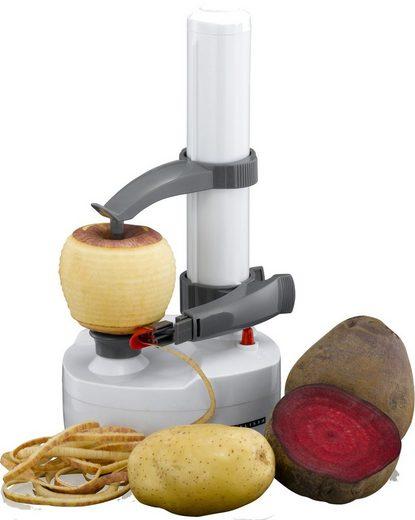 MELISSA Sparschäler »16310174 Elektrischer Obst- und Gemüseschäler Apfelschäler Sparschäler Batteriebetrieben Sensation Kartoffel-Schälmaschine Kartoffelschäler«