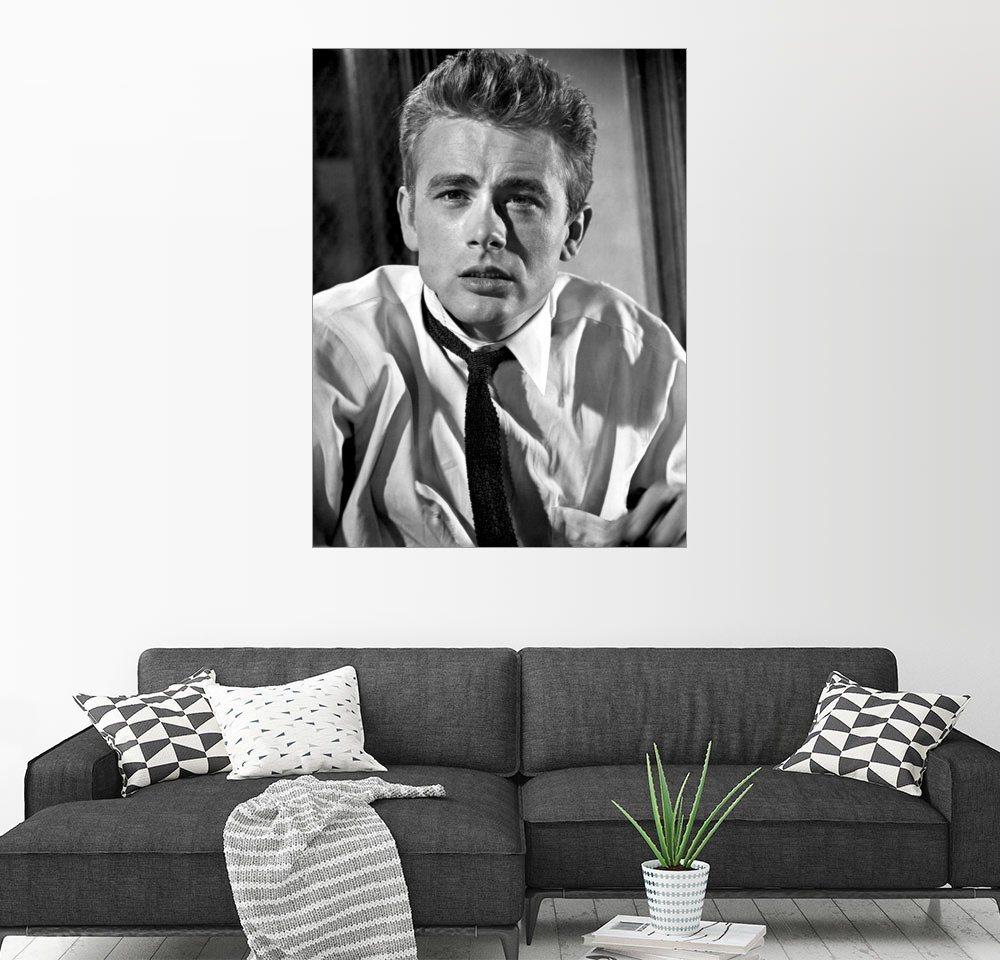 Posterlounge Wandbild James Dean grau | 04053831305031