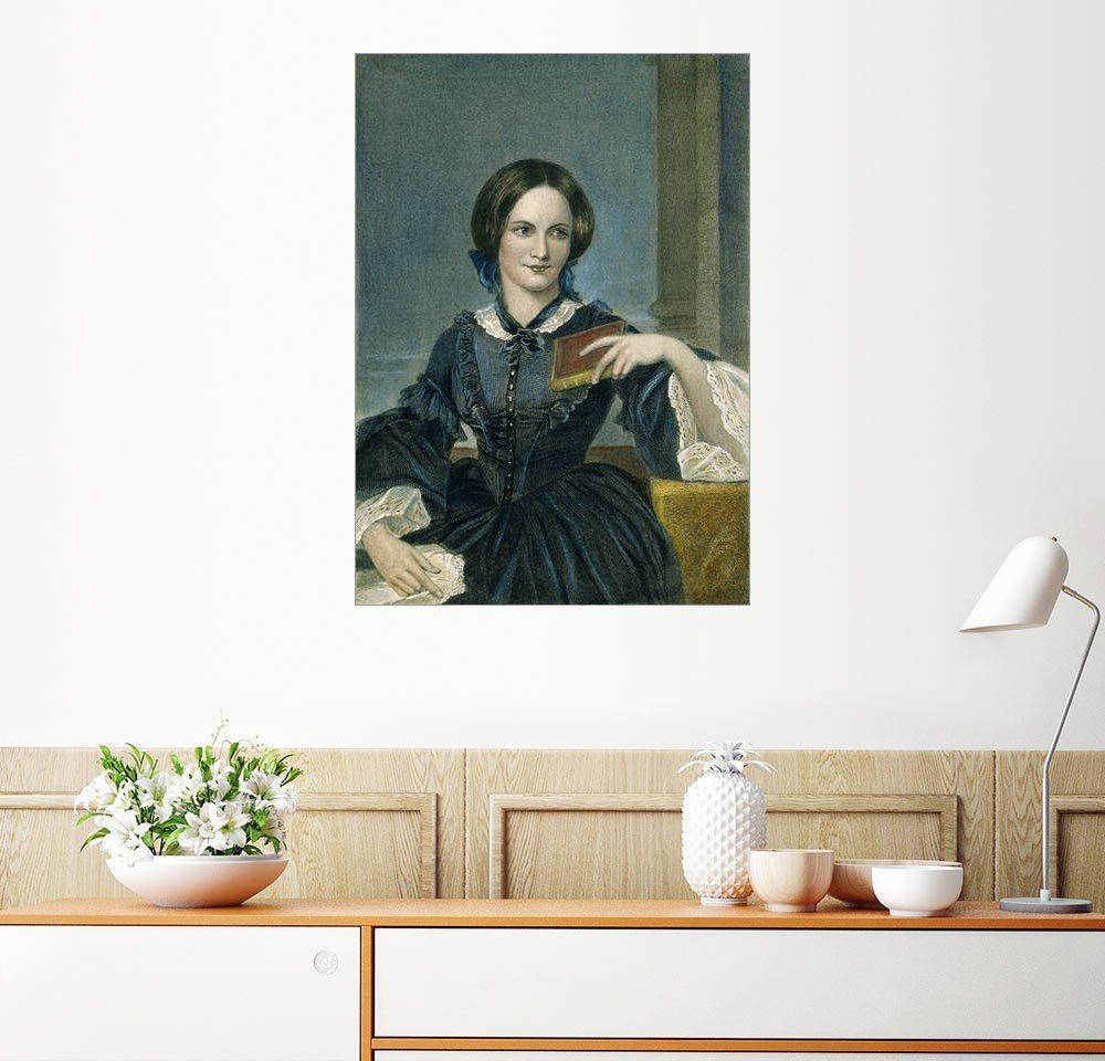 Posterlounge Wandbild Charlotte Bronte bunt,mehrfarbig | 04053831308728