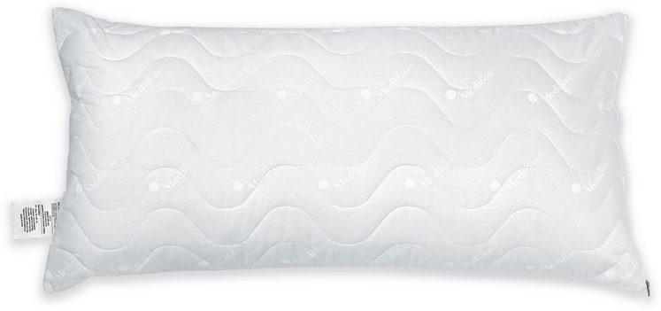 Wasserkissen, »Mediflow gesteppter Luxus Schonbezug 5020 40x80cm«, Mediflow, Bezug: 100% Baumwolle, (1-tlg)