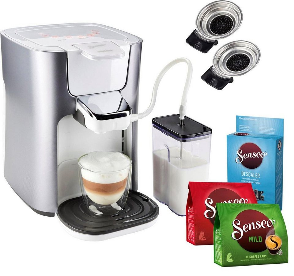 senseo kaffeepadmaschine hd6574 20 latte duo inkl gratis. Black Bedroom Furniture Sets. Home Design Ideas
