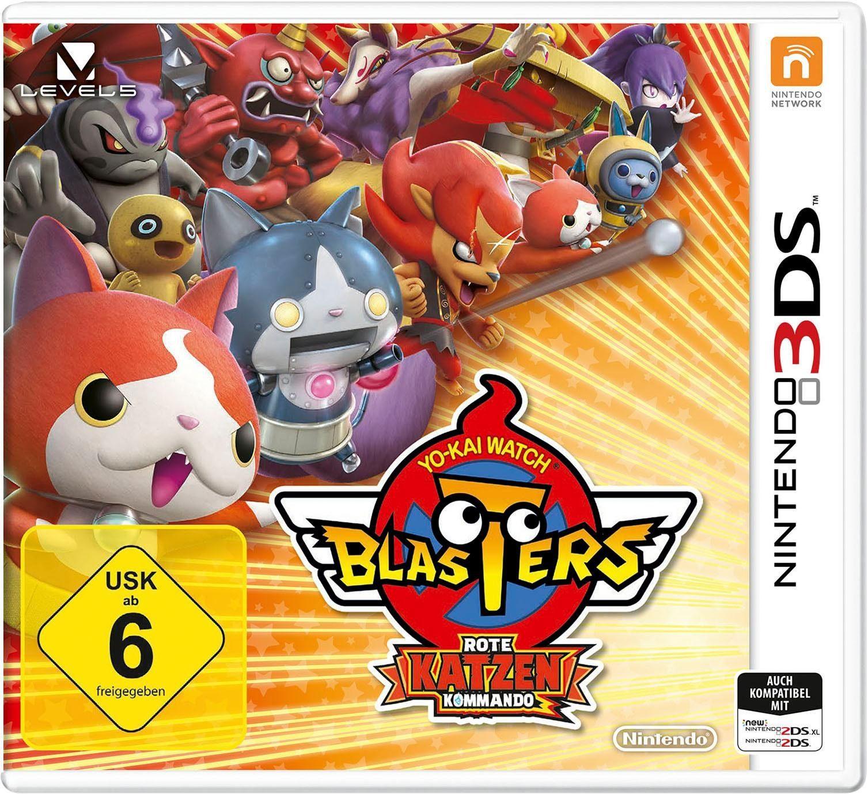 YO-KAI WATCH BLASTERS: Rote-Katzen-Kommando Nintendo 3DS