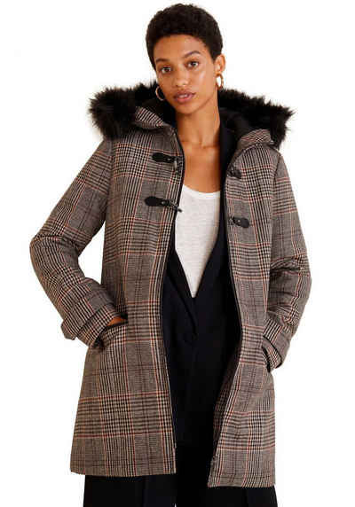 Короткое пальто MANGO