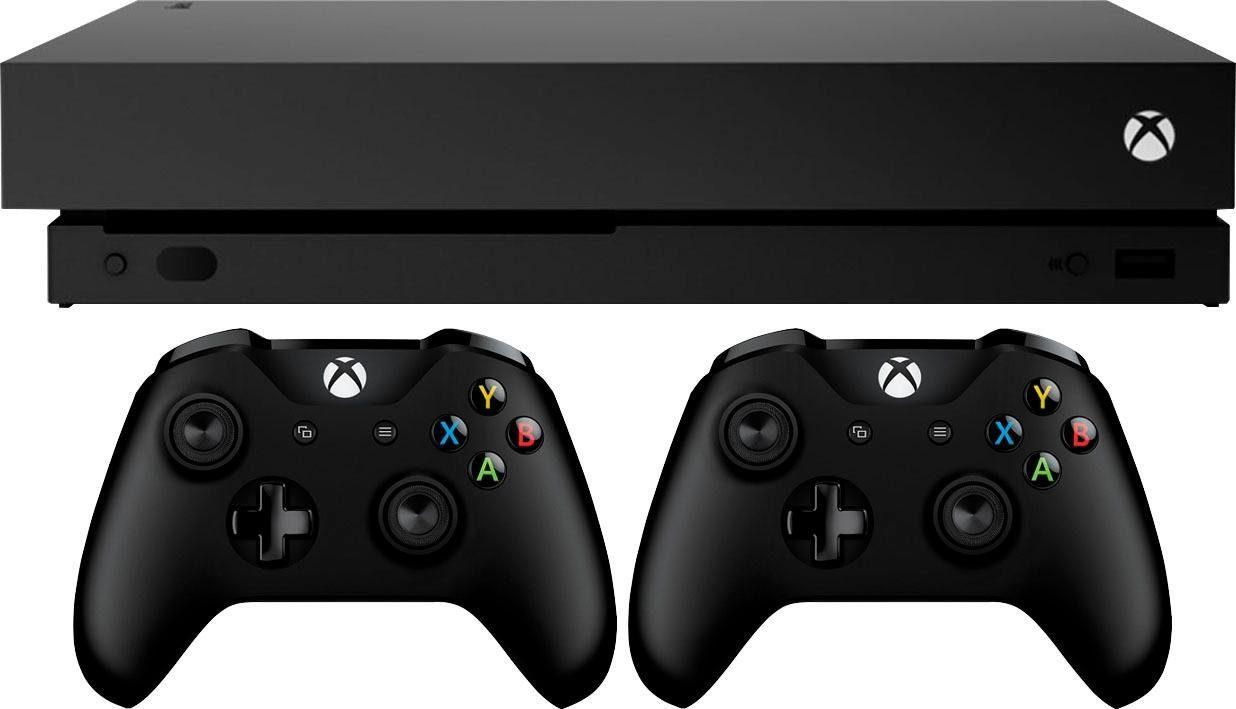 Xbox One X 1TB (1 TB Bundle, inkl. 2. Wireless Controller)