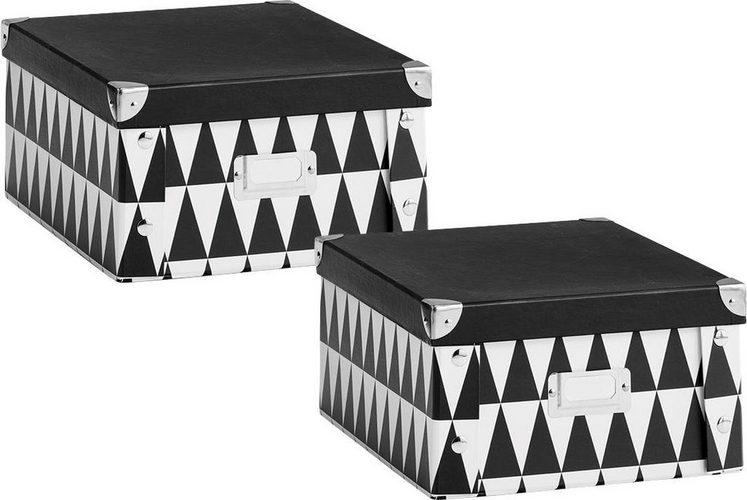Zeller Aufbewahrungsbox Triangle