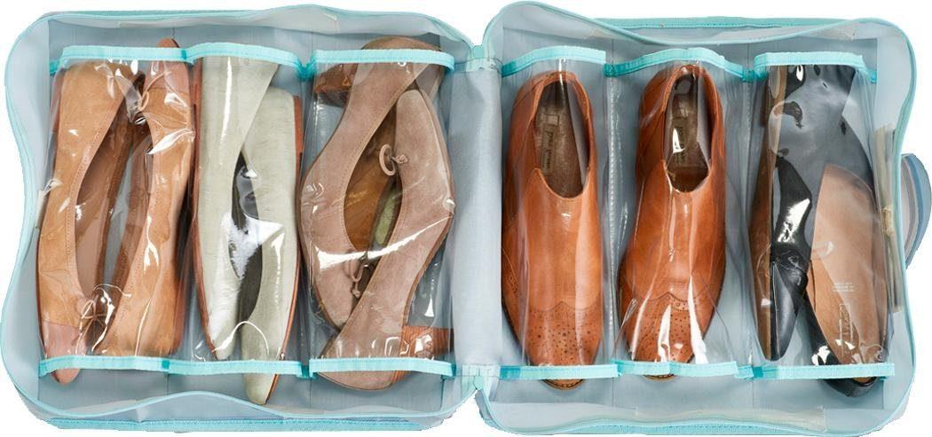 Zeller Koffer-Organizer für Schuhe, Polyester, grau