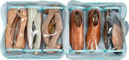 Zeller Present Schuhbox, Polyester, grau