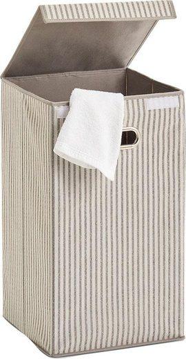 Zeller Present Wäschesortierer »Stripes«, Vlies, beige