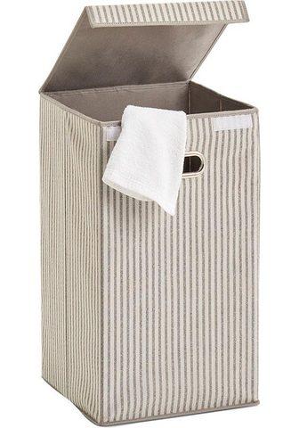 ZELLER PRESENT Skalbinių krepšys »Stripes«
